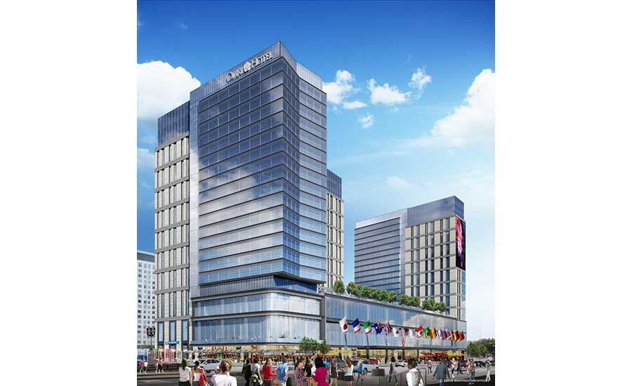 planned developments surrounding boston convention center. Black Bedroom Furniture Sets. Home Design Ideas
