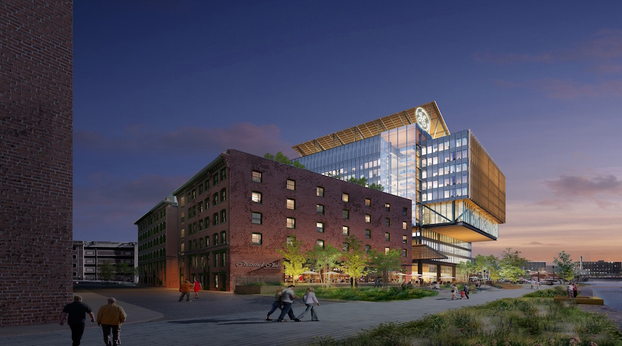 General Electric Selects Suffolk To Build New Boston