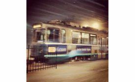 Green Line Winter Shot
