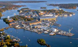 Portsmouth Shipyard Aerial