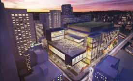 Rendering of proposed expansion of the Washington State Convention Center
