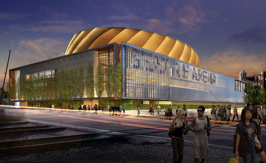 Rendering of Seattle Arena
