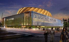 Rendering of Seattle Arena