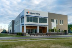 Grand River Aseptic Manufacturing's Grand Rapids, Mich., fill and finish facility.