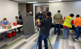 Contractor Vaccination Event