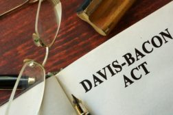The Davis Bacon Act established prevailing wage laws