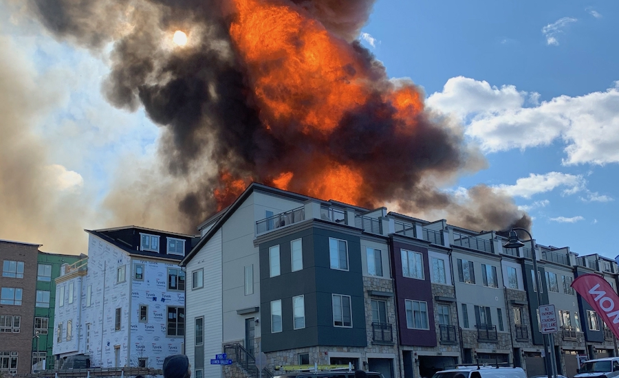 Alexandria Fire Day 1