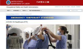 Emergency OSHA standard