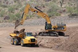 Excavator and Hauler