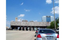 Holland Tunnel tolling plaza