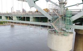 Arkansas DOT I-40 bridge repairs