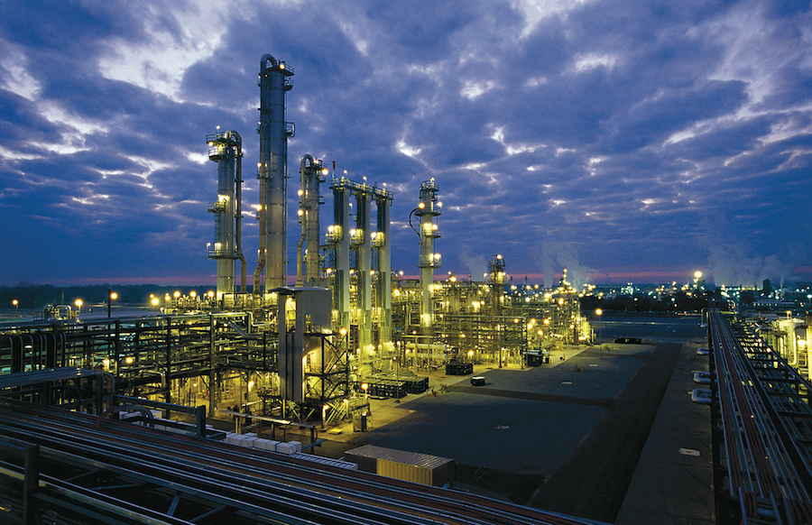 Geismar chemicals manufacturing complex in Louisiana is operated by Shell Chemical LP. Photo courtesy of Shell Chemical.