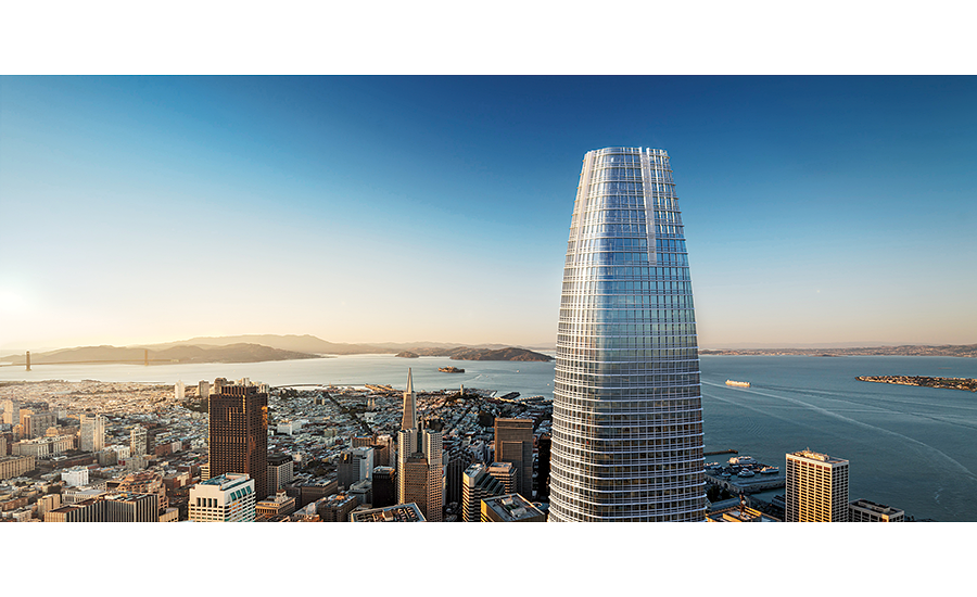 Boston Properties' 61-story Salesforce Tower