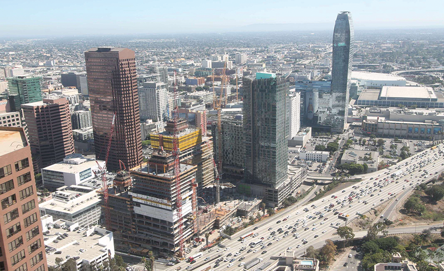 Coordination Critical On Shared Downtown Los Angeles Site