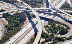 Caltrans I-215 overpasses