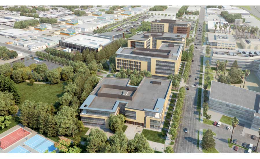 Stanford University's $568-million Redwood City office campus
