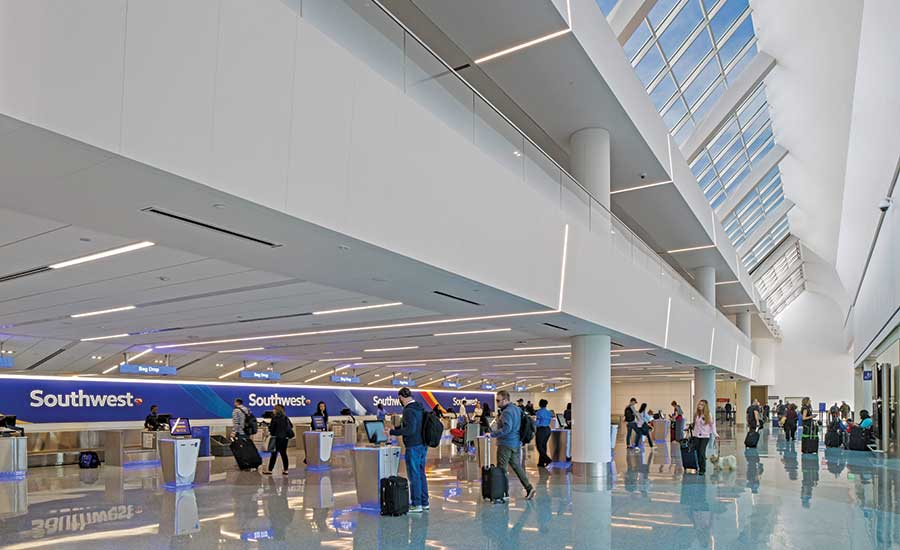 Southwest Airlines Terminal 1 Modernization at Los Angeles International Airport