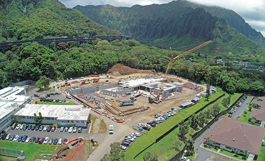 Hawaii State Hospital New Patient Facility in Kaneohe