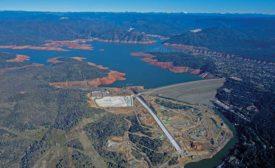 Oroville Dam spillway
