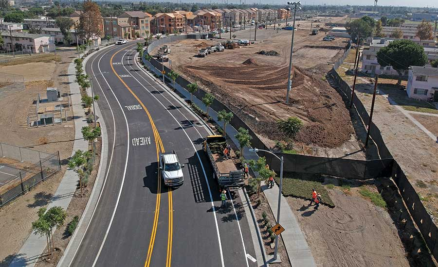 Century Boulevard Extension from Grape Street to Alameda Street