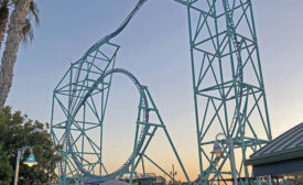 SeaWorld's Electric Eel roller coaster project