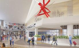 SFO Terminal 1 boarding area