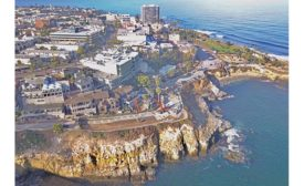 Coast Boulevard Sea Cave Emergency Stabilization