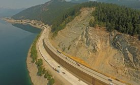 I-90/Snowshed to Keechelus Dam Phase 1C project