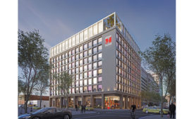 Los Angeles citizenM modular hotel