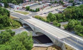 Frederick Ave Bridge over Gwynns Falls
