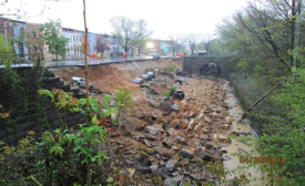 26th Street retaining-wall collapse
