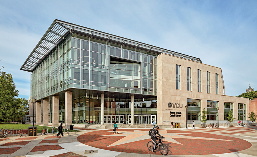 VCU Cabell Library Exterior