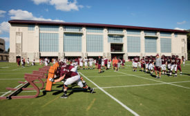Virginia Tech Athletic Training Facility