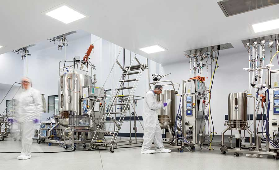 TEVA Biologics manufacturing facility