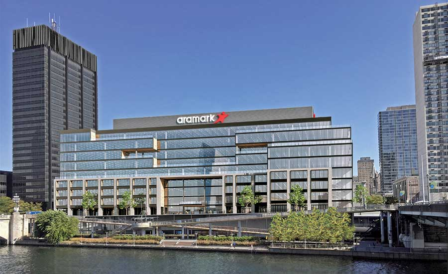 Aramark's new corporate headquarters