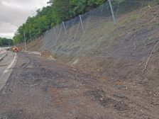 Post-Rockfall Geohazard Mitigation at West Virginia University