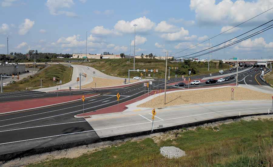 Interstate-70, Section T20 Reconstruction and Widening
