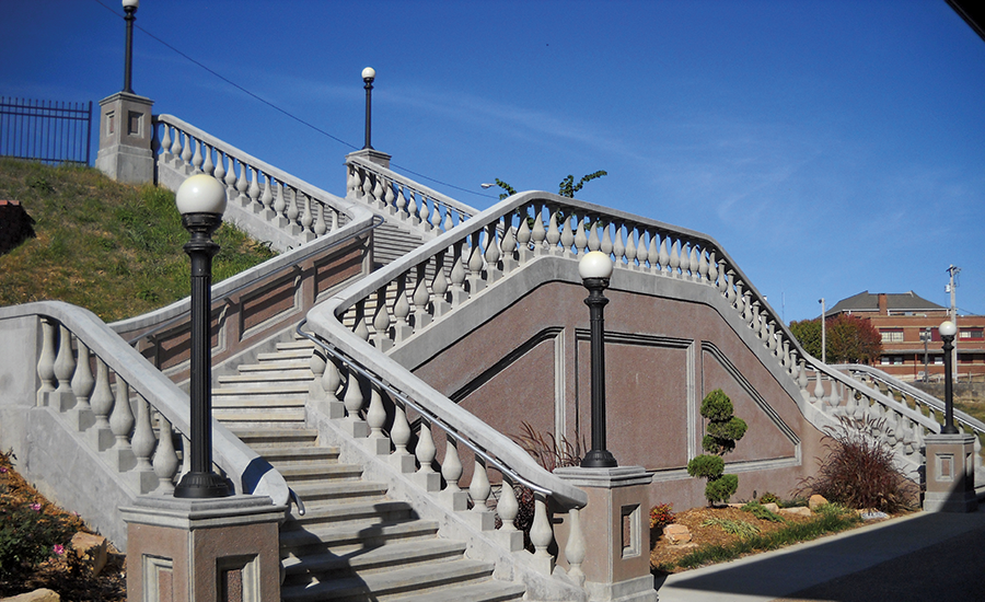 Railroad Depot Grand Staircase
