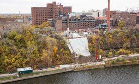 West River Parkway slope repair