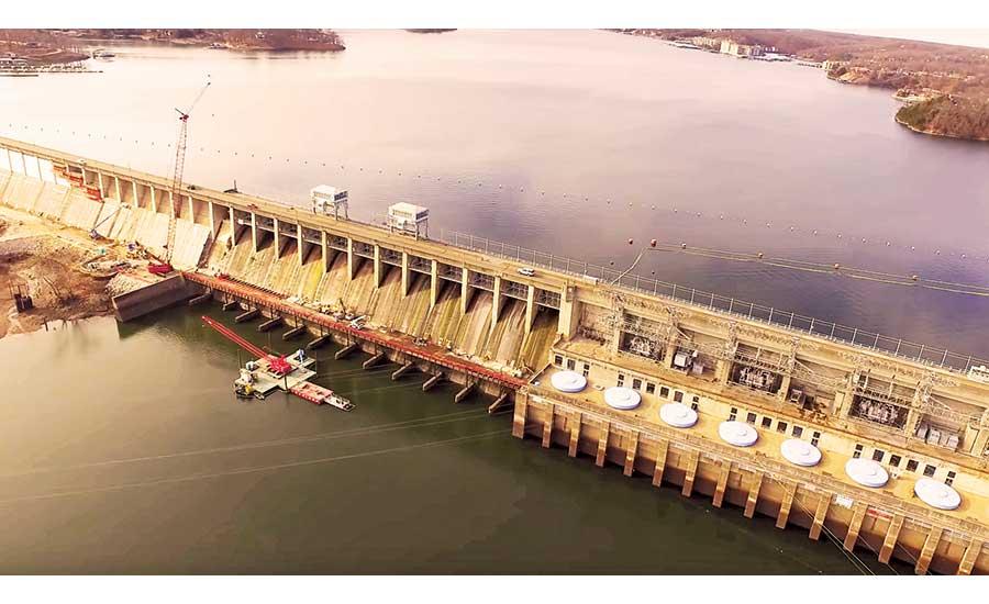 New Concrete, Anchors Stabilize Bagnell Dam | 2018-05-14 | ENR