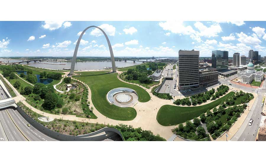 P3 Delivers Gateway Arch Park