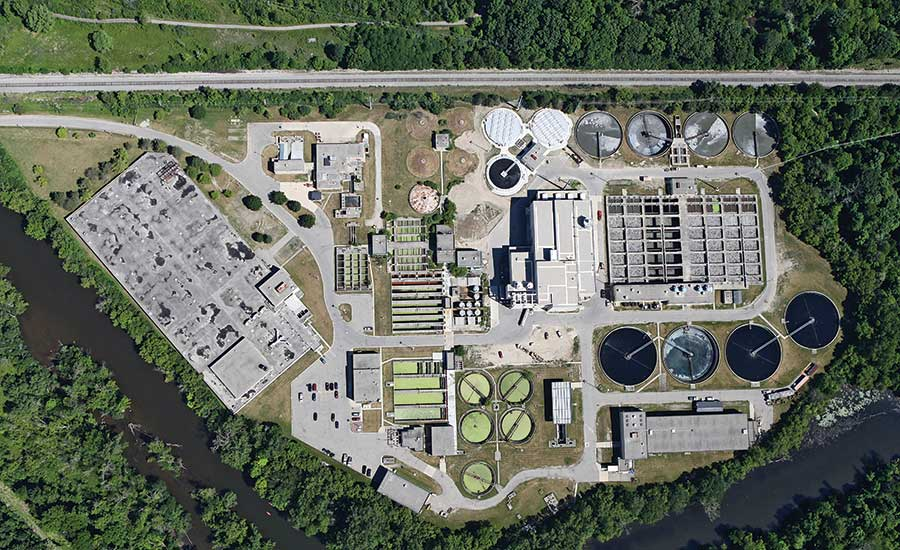 Ann Arbor Wastewater Plant Treatment Facilities Renovation Center