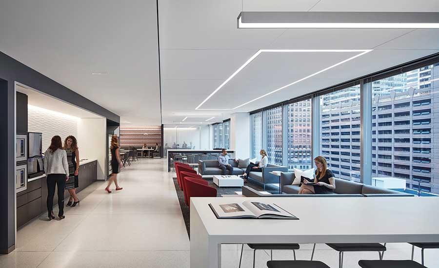 Interior design tenant improvement cna corporate - Top interior design firms chicago ...