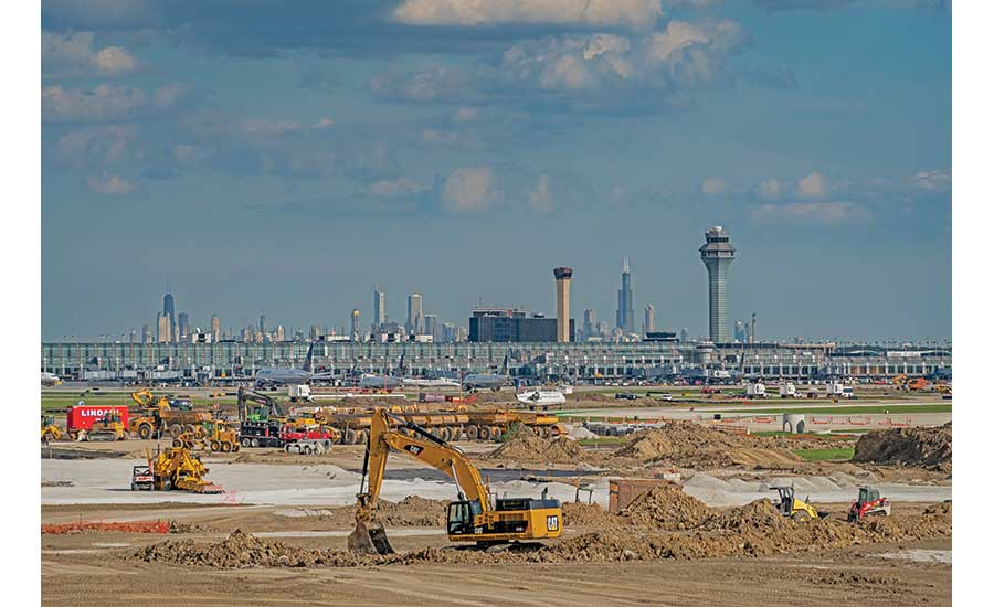 Chicago's O'Hare Airport runway