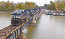 Norfolk Southern Railroad Grand River Bridge Emergency Repairs