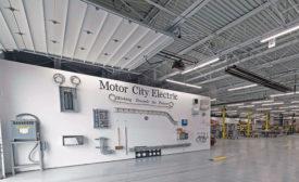 Prefab shop Motor City Electric Co.