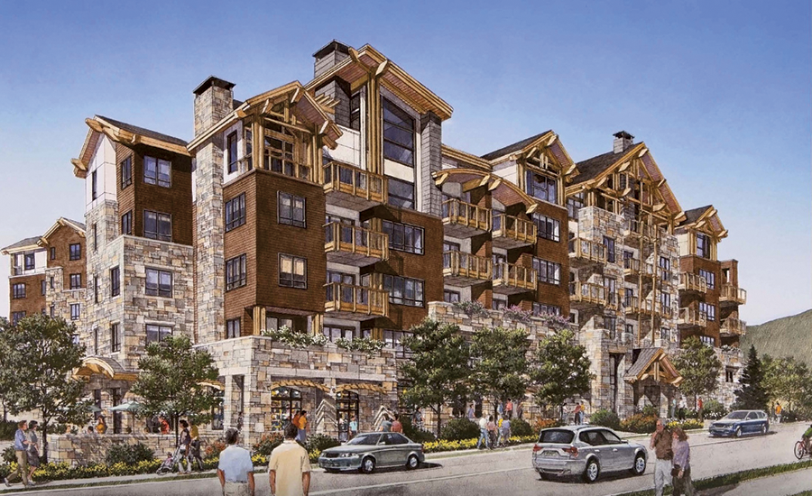 the lion brings high-end resort development back to the vail