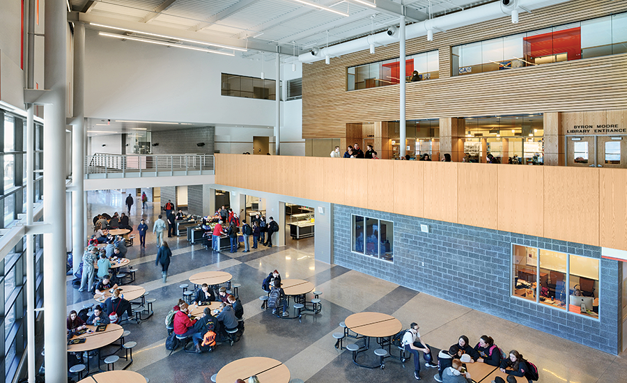 Natrona County High School Commons Area