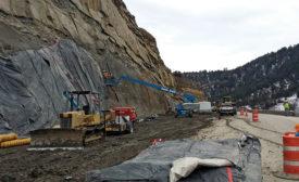 S.H. 133 Paonia Resevoir rockfall mitigation