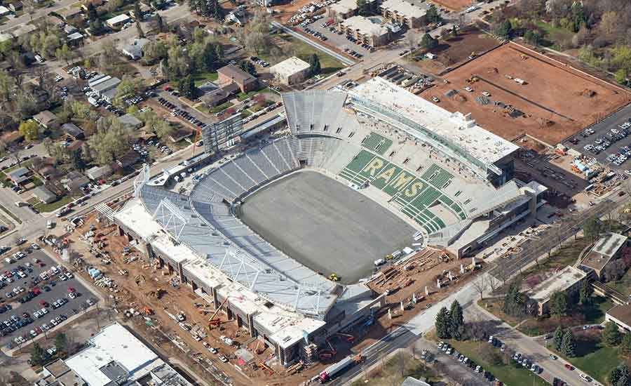 With New Stadium Csu Football Fans Can Return To Campus On Days